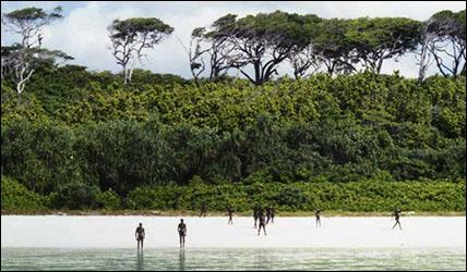 people of sentinel island