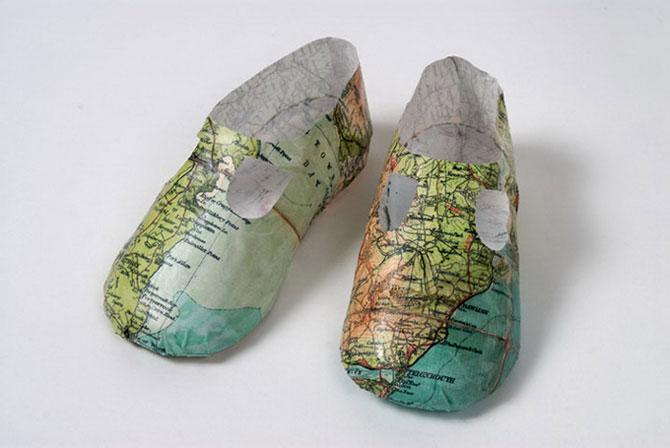 Objetos hechos con papel reciclado – Rincón Abstracto