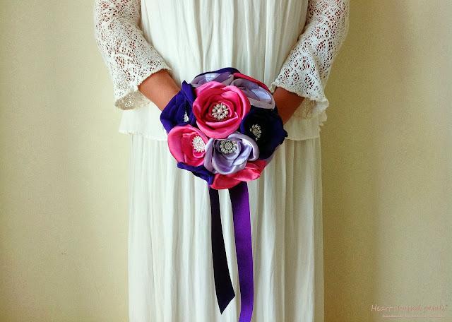 bouquets de noiva de jóias