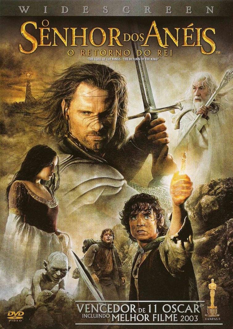 O Senhor dos Anéis 3: O Retorno do Rei – Dublado (2003)