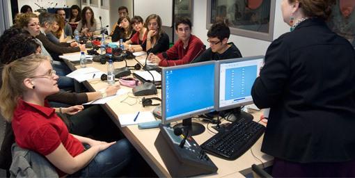 estudiantes de traduccion