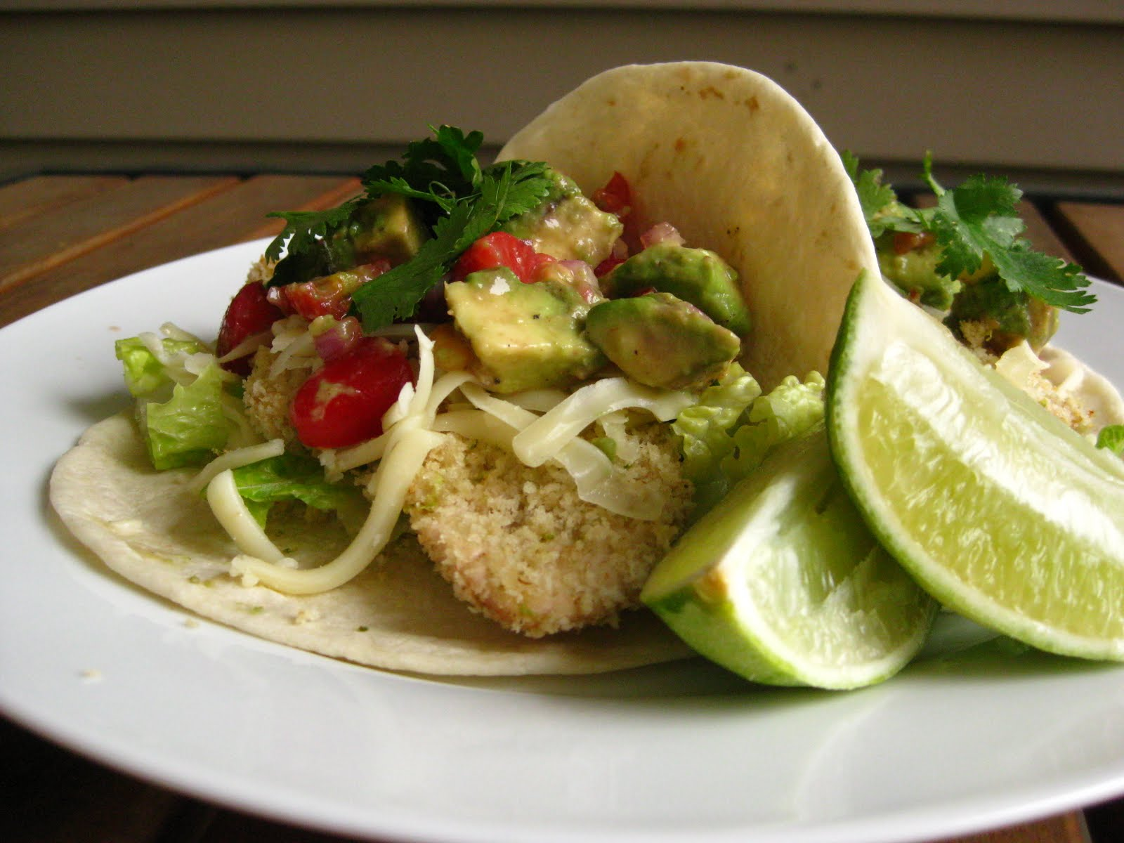 ... Cooking: Crispy Margarita Chicken Tacos with Strawberry Avocado Salsa