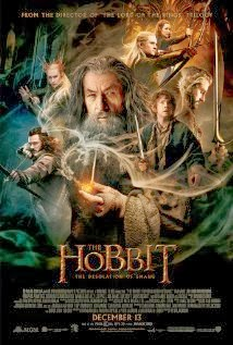 The Hobbit The Desolation of Smaug  cartel poster online en español gratis