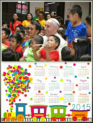 "The EQ Post 2015 ""Pope with Street Kids""Calendar"