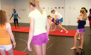 gymnastics lessons myers park charlotte