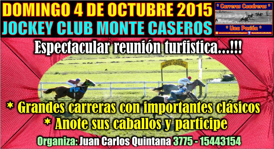 MONTE CASEROS - 04.10.2015