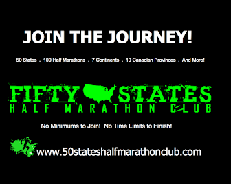 Running Half Marathons in 50 States