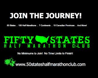 Running Half Marathons in 50 States