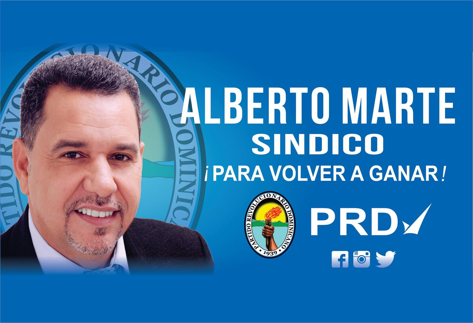 ALBERTO MARTE SIGUE