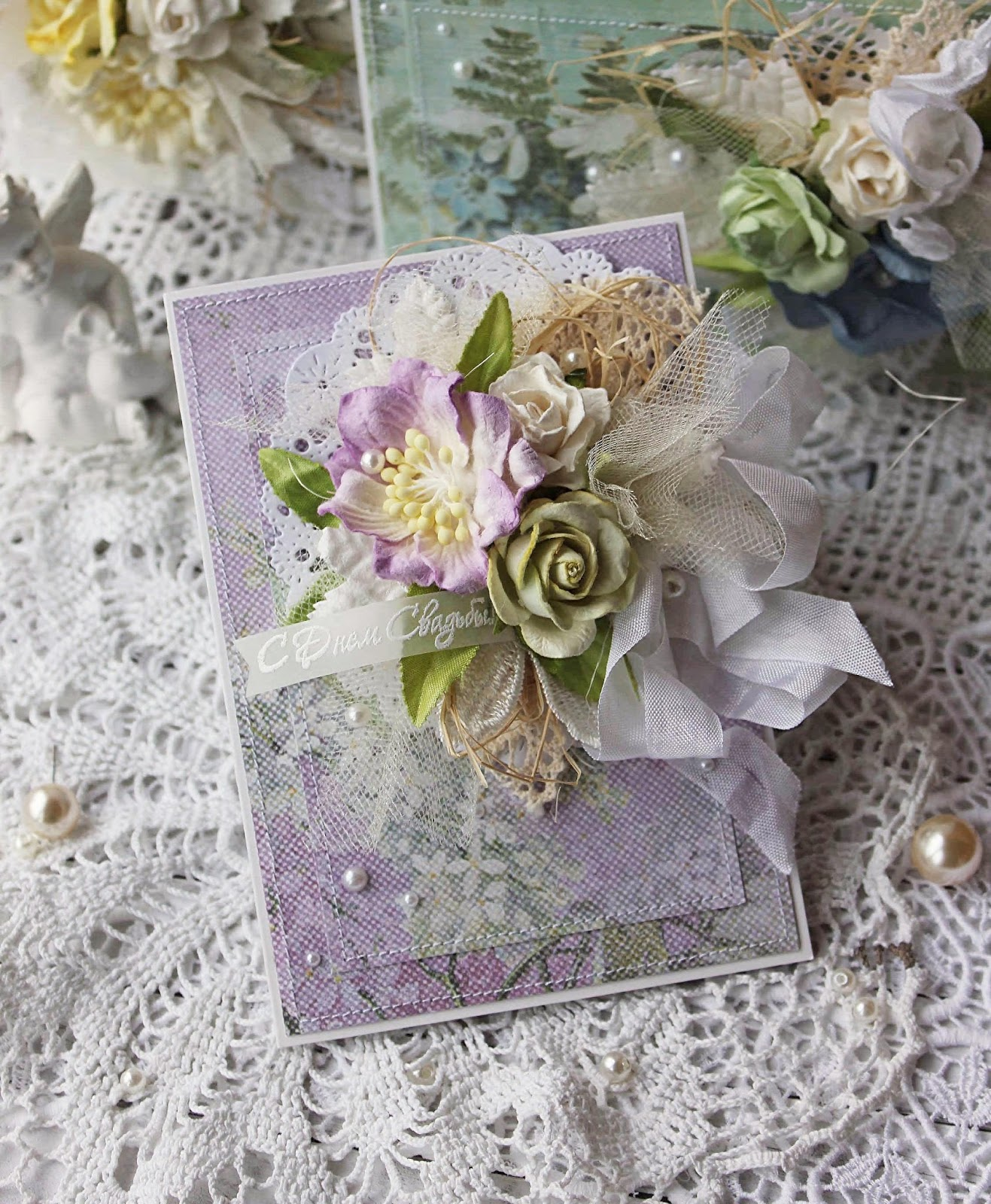 Свадебный скрапбукинг открытки фото