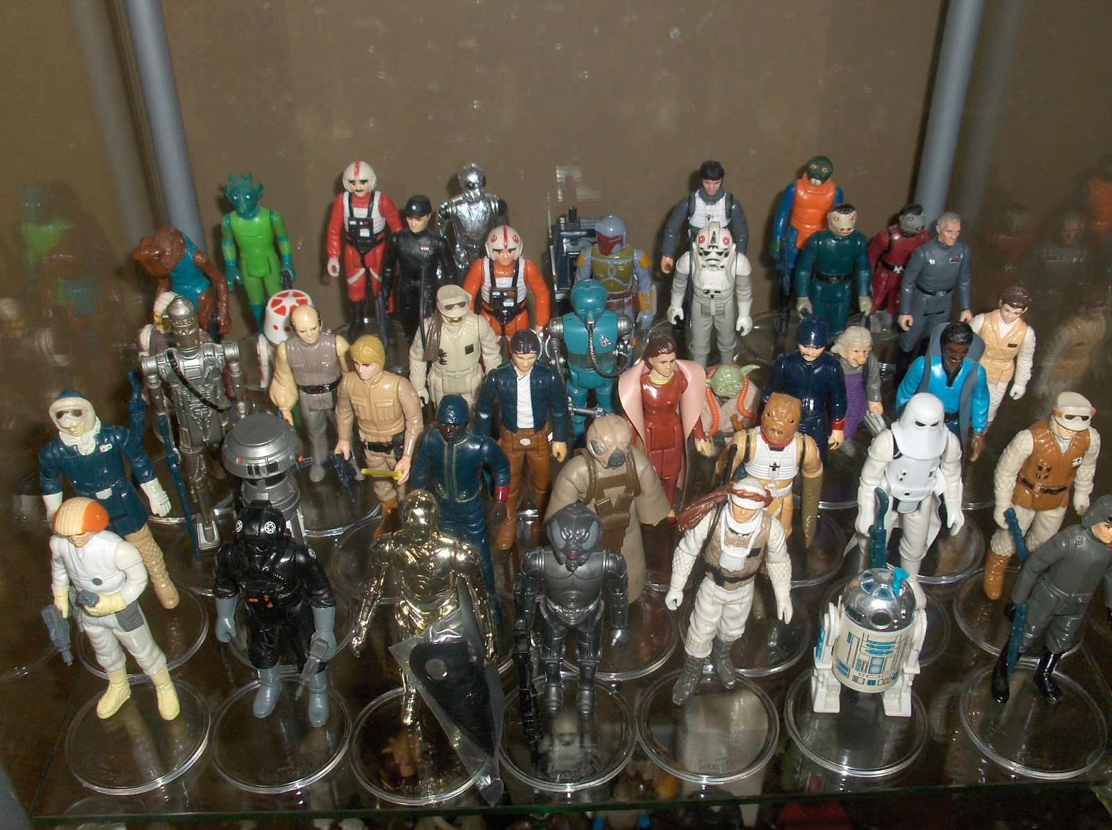 Star Wars Vintage Toys : Vintage kenner star wars toys figure collection