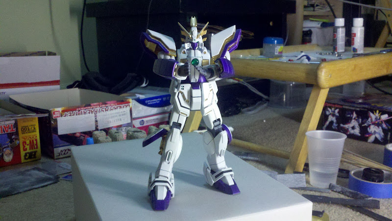 posing against mg 00 qan t s inner frame that was about to be painted title=