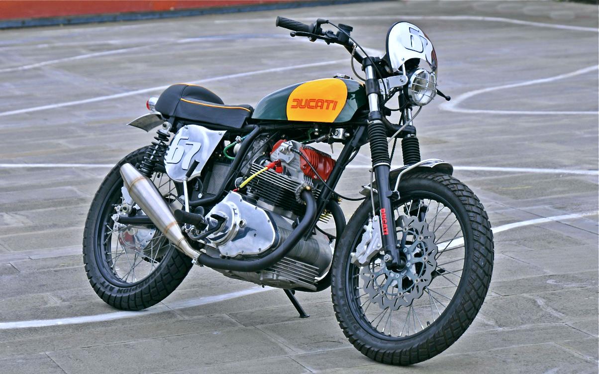 Ducati 350 Gtl Inazuma Caf 233 Racer