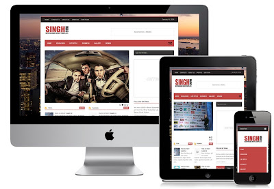 Singh Mag Blogger Template