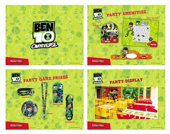 McDonalds Ben 10 Party Theme