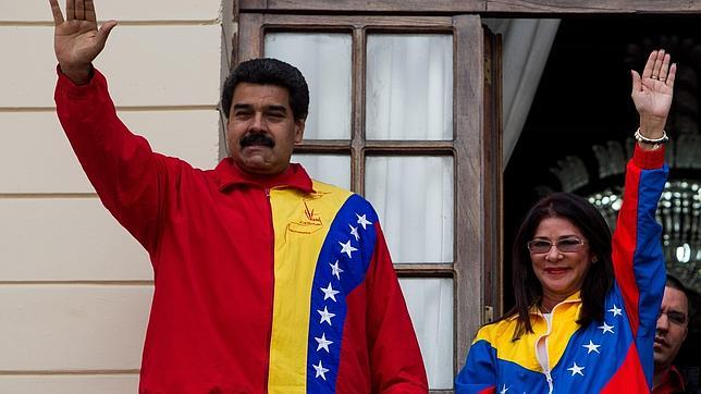 EUA prenderam membros da família do presidente Nicolas Maduro