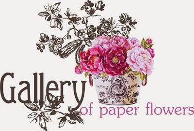 Галлерия бумажных цветов