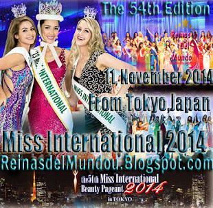 Disfruta Nuestra Cobertura de Miss International 2014, Haciendo Click en la Imagen
