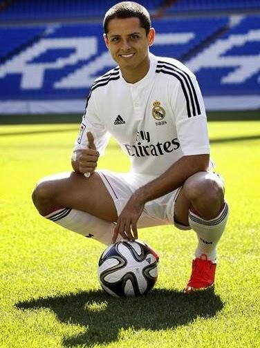 Chicharito al Real Madrid, la envidia de cualquier mexicano