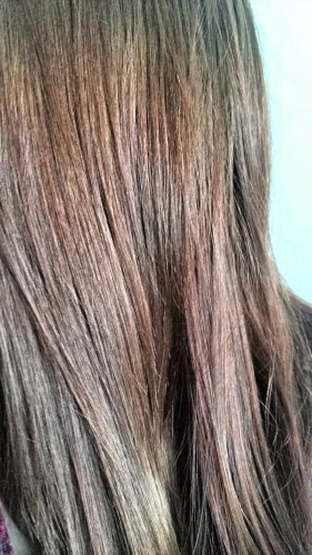 Photo of result achieved with vidal sassoon hair dye