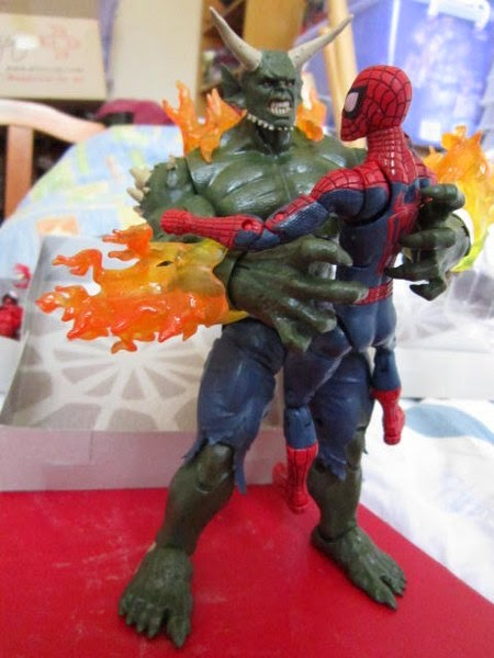 Marvel Legends Infinite Series Wave 1 Amazing Spider-man Ultimate Green Goblin BAF Build a figure loose figure Dr Ock Toxin Spawn Symbiote Carnage Black Cat Spider-girl Boomerang Beetle Electro