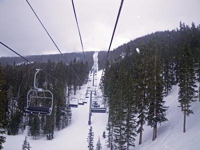 Ski lift, Santa Fe ski resort