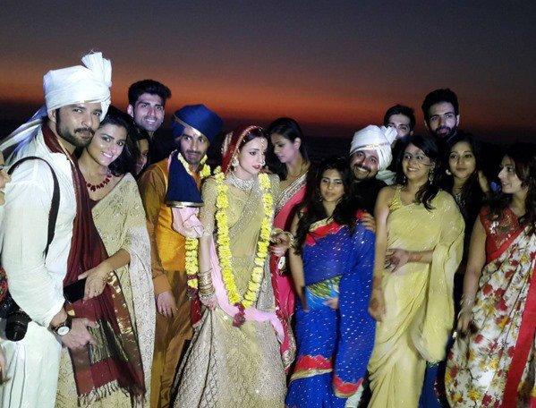 Sanaya Irani-Mohit Sehgal wedding
