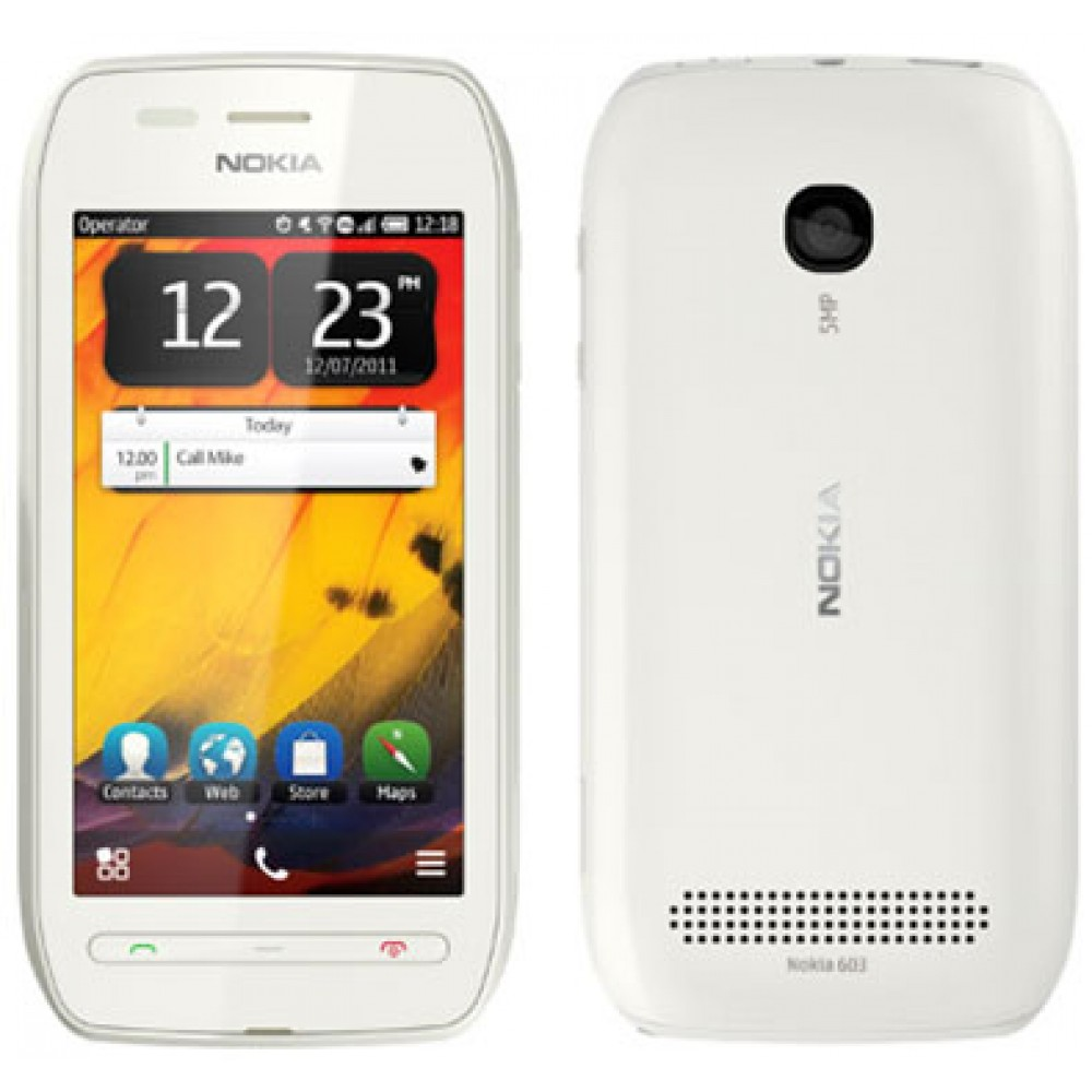 Nokia 603 Cell Phones Related Keywords Suggestions 2gb White The Best Mobiles Price Buy
