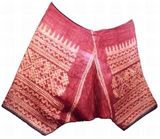 Pantalon ng Bagobo Antropolohiya Kultura Bagobo trausers sinaunang