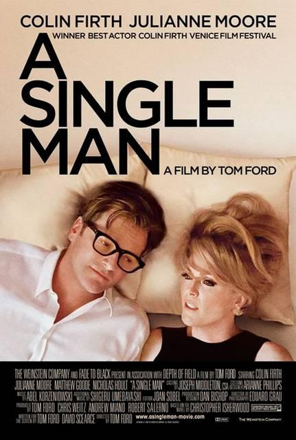 a single man, film, locandina, poster