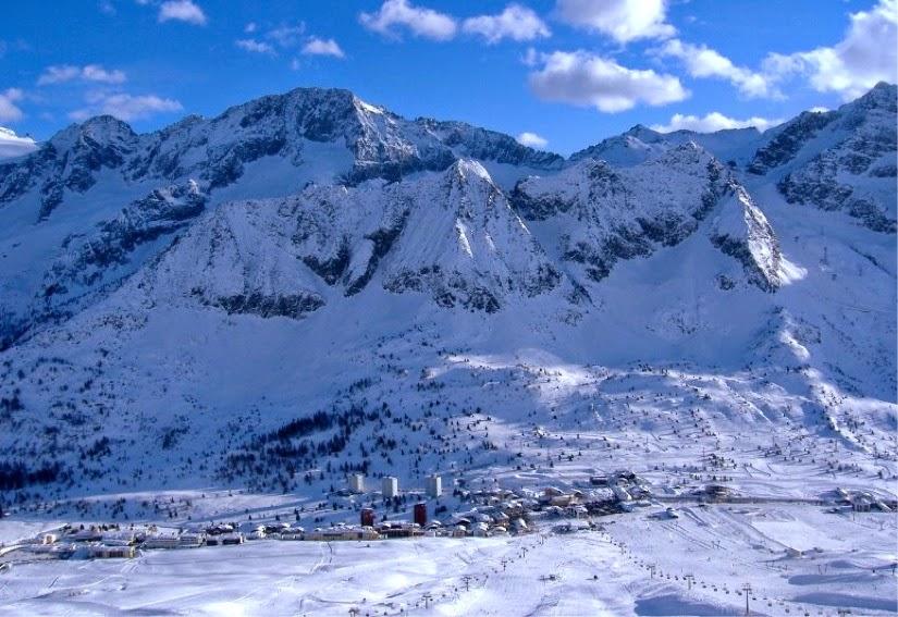Passo del Tonale, Dolomites, Italy