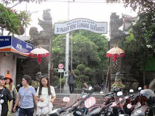 Tempat Wisata Pasar Seni Guwang Sukawati Bali