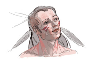 portret tekenen, 3D tekenen, anatomie, anatomie tekenen, vorm tekenen, verhoudingen tekenen, character tekenen, fantasy character,