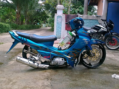 jupiter z modifikasi ceper