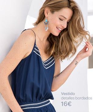 Carrefour Tex y Aida Artiles ropa primavera verano