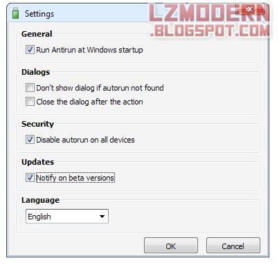 Antirun 2.6 + Crack & Reg Serial Full Version - Autorun Virus Protection