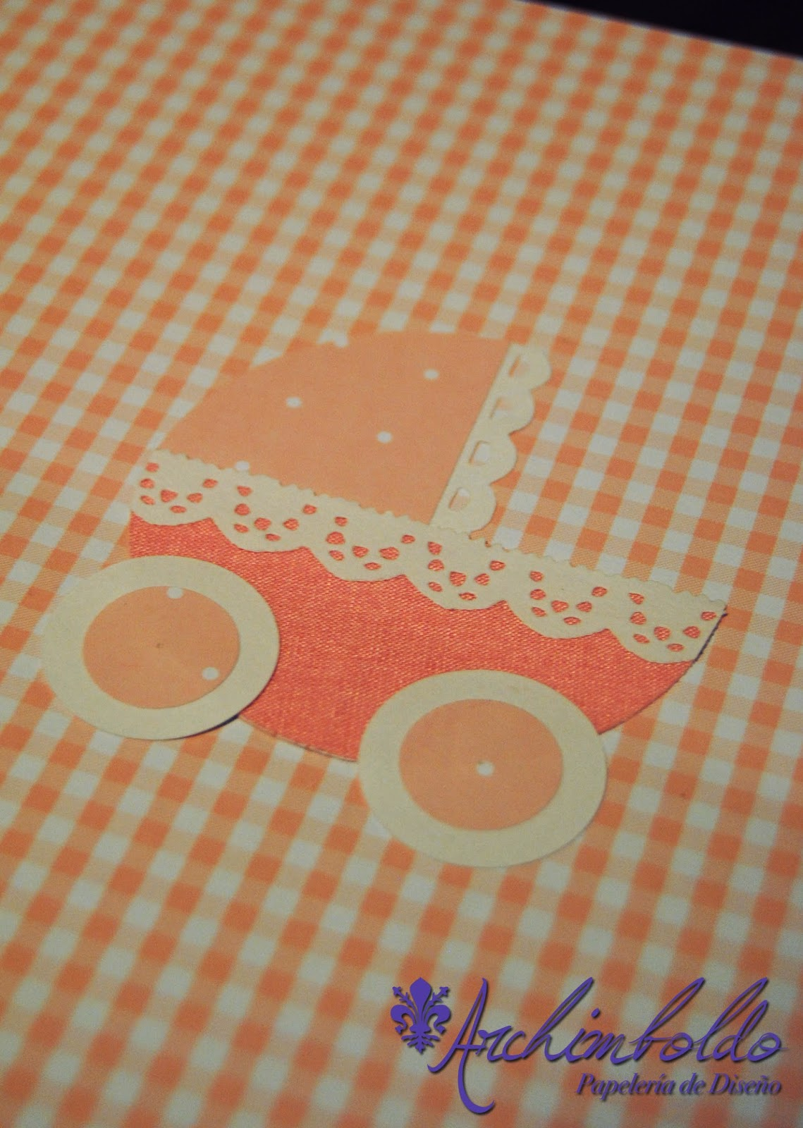babyshower cartonaje