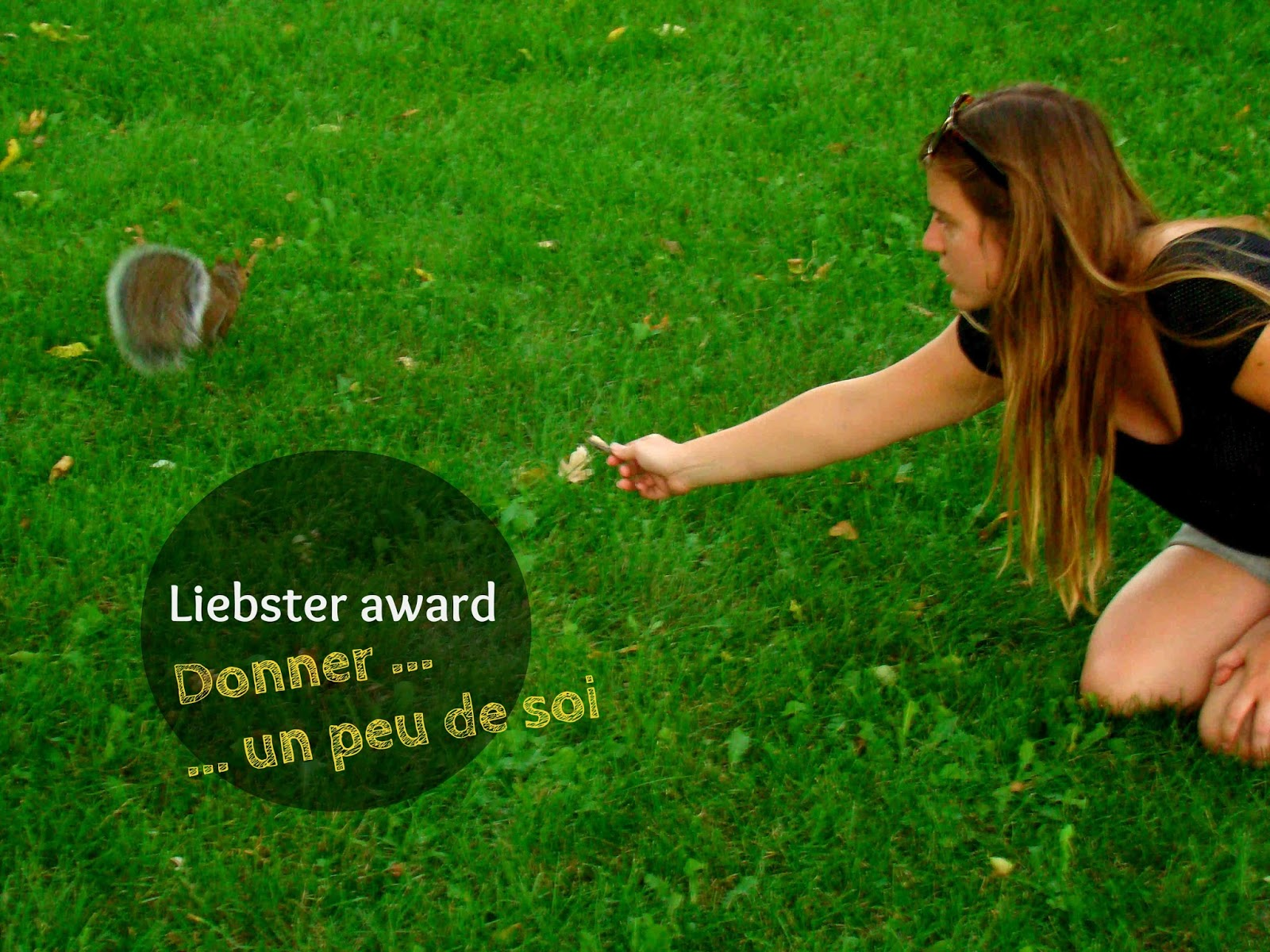 Liebster award...ou un peu de soi