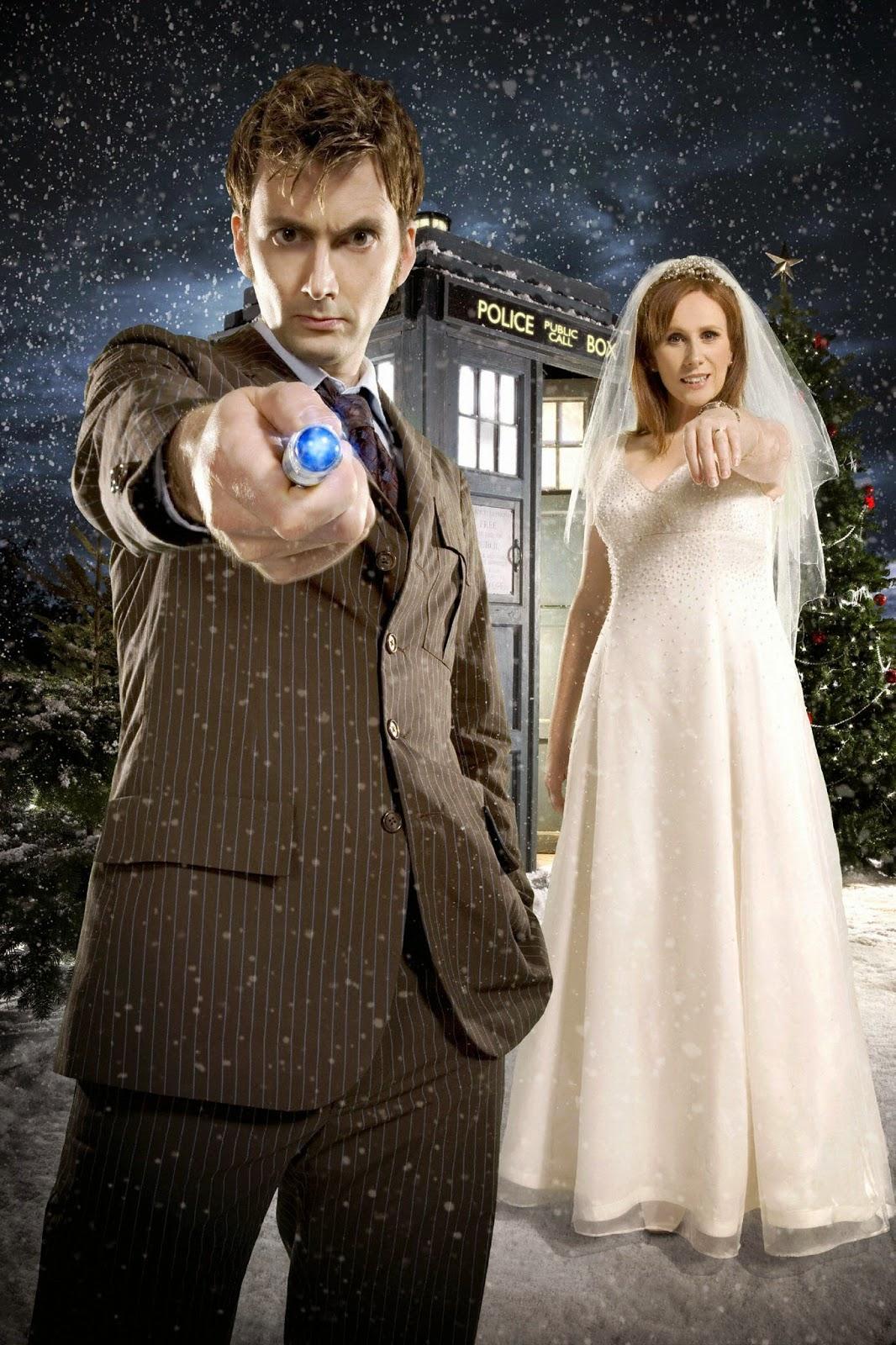 PHOTOS: David Tennant & Catherine Tate In The Runaway Bride ...