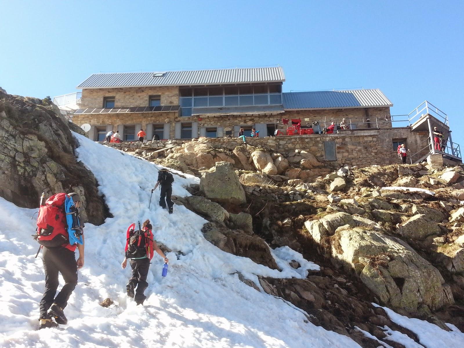 Eriste-Refugio de Forcau-Pico Posets (3369m)