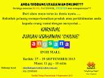 Karnival Usahawan Online
