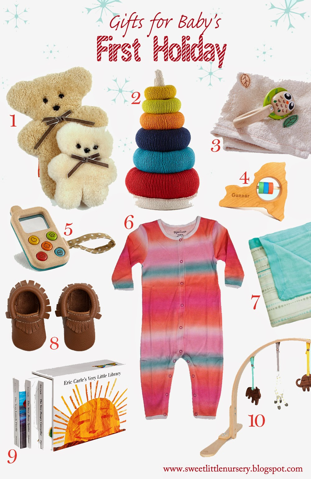 10 Gifts for Baby's First Holiday