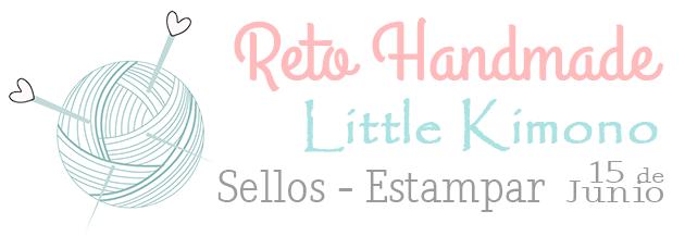 Reto Handmade Little Kimono: sellos-estampar 15 de junio.