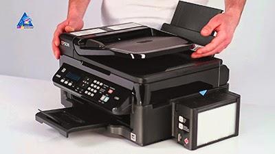 reset printer epson l550