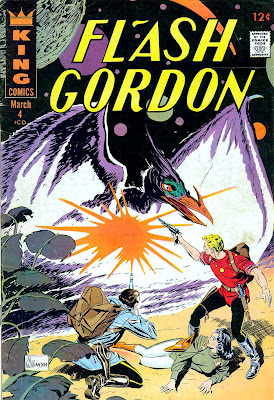 Flash Gordon v4 #4 1960s silver age science fiction comic book cover art by Al Williamson