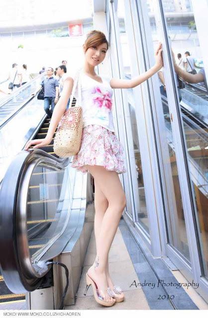 Chinese Model Li Fan