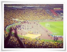 Final Piala Malaysia 2013: Dari Kluang ke Shah Alam.
