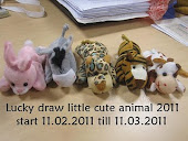 LUCKY DRAW LITTLE CUTE ANIMAL 2011.