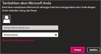 Cara Menggunakan Fitur Email Pada Windows 8