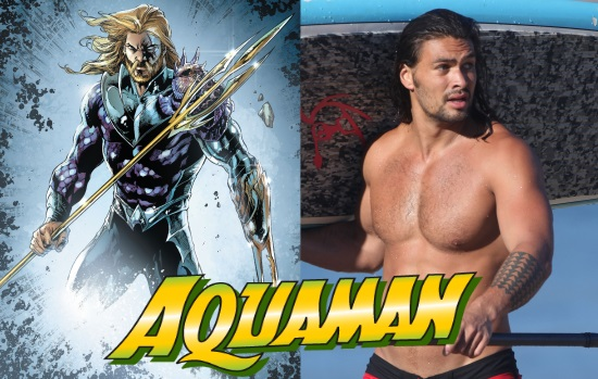 JASON MOMOA SERÁ AQUAMAN EN BATMAN V SUPERMAN
